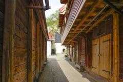 De zijstraat van Bergen Royalty-vrije Stock Afbeelding