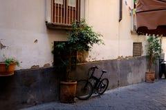 De zijstraat van Sorrento Stock Afbeeldingen