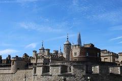 De zijvesting van de torenbrug royalty-vrije stock afbeeldingen