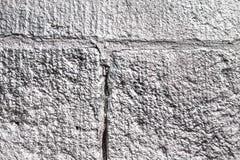 De zilver bespoten textuur van de steenmuur Stock Afbeelding