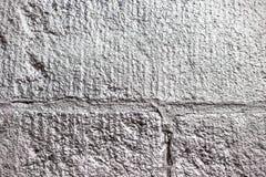 De zilver bespoten textuur van de steenmuur Stock Fotografie