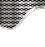 De zilveren achtergrond van het metaalmalplaatje Stock Foto
