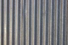 De zilveren achtergrond van het zinkpatroon Stock Fotografie