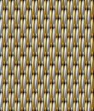 De zilveren Gouden Achtergrond van het Net Vector Naadloze Patroon Royalty-vrije Stock Foto's