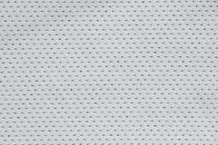 De zilveren grijze textuur van het stoffenpatroon Stock Afbeeldingen
