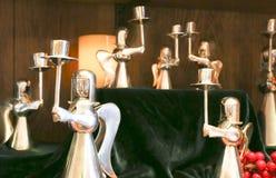 De zilveren houders van de Engelenkaars Royalty-vrije Stock Foto's