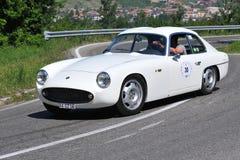 De Zilveren Vlag Zagato - Vernasca 2011 van GT Stock Foto
