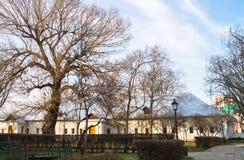 De Zingende kamer van Novodevichy-klooster in Moskou Stock Foto