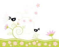 De zingende lente Stock Afbeeldingen