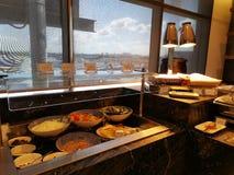 De Zitkamer van buffet @ American Express in Sydney International Airport royalty-vrije stock afbeelding