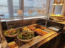 De Zitkamer van buffet @ American Express in Sydney International Airport royalty-vrije stock foto