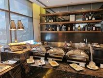 De Zitkamer van buffet @ American Express in Sydney International Airport stock afbeeldingen