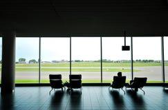 De zitkamer van de reis in Amsterdam Sch Stock Foto