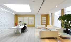 De zitkamer van het bureau Stock Foto's