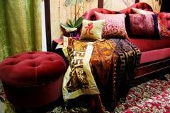 De zitkamer van het fluweel Stock Afbeelding