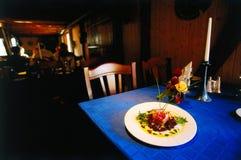 De zitkamer van het restaurant Stock Foto's