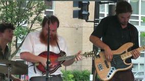 De Zitting van de Bluegrassjam stock video