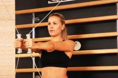 De Zitting van de gymnastiek Royalty-vrije Stock Fotografie