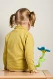 De zitting van het kind Stock Afbeelding