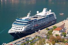 De Zoektocht van Azamara van het cruiseschip royalty-vrije stock fotografie