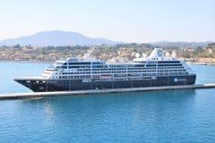 De Zoektocht van Azamara van het cruiseschip stock foto's