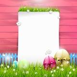 De zoete achtergrond van Pasen Stock Afbeeldingen