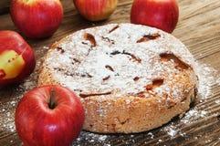 De zoete appeltaart Royalty-vrije Stock Afbeeldingen