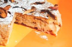 De zoete appeltaart Stock Foto's