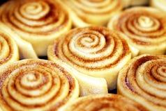 De zoete Broodjes van de Kaneel Stock Fotografie