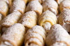 De zoete Broodjes van de Room Royalty-vrije Stock Foto