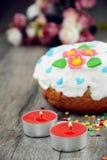De zoete cake van Pasen stock foto's