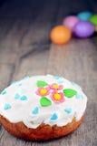 De zoete cake van Pasen stock fotografie