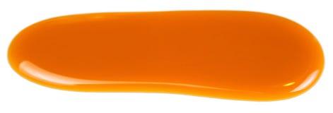De zoete die vlek van de karamelsaus op witte dichte omhooggaand wordt geïsoleerd als achtergrond royalty-vrije stock foto's