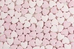 De zoete harten van het suikersuikergoed royalty-vrije stock afbeeldingen