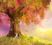 De zoete herfst royalty-vrije illustratie