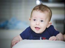 De zoete Jongen van de Baby royalty-vrije stock fotografie