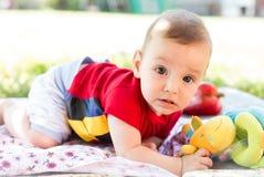 De zoete Jongen van de Baby royalty-vrije stock afbeeldingen
