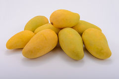 De zoete mango's in thailad Stock Afbeelding