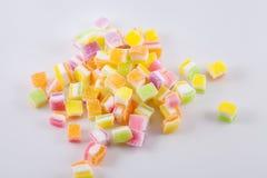 De zoete multikleur van de fruitgelei Stock Afbeelding