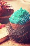 De zoete Pasen-cakes van de Kerstmisverjaardag Royalty-vrije Stock Afbeelding