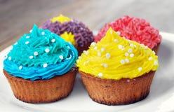 De zoete Pasen-cakes van de Kerstmisverjaardag Royalty-vrije Stock Foto's
