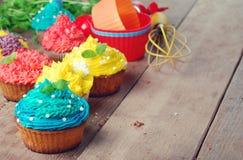 De zoete Pasen-cakes van de Kerstmisverjaardag Stock Afbeelding
