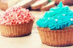 De zoete Pasen-cakes van de Kerstmisverjaardag Stock Foto's