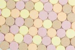 De zoete tabletten van het suikersuikergoed royalty-vrije stock afbeeldingen