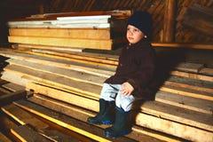 De zolder van het platteland Stock Fotografie