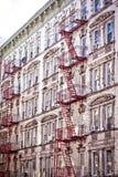 De zolders & de flats van Soho Stock Foto's