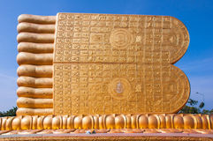 De zolen van Budha stock foto
