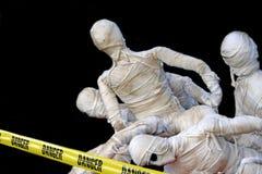De zombieën van Halloween Stock Afbeelding