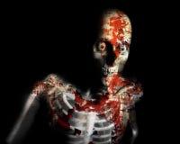 De Zombie van het bederf Royalty-vrije Stock Foto's