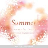 De zomer. royalty-vrije illustratie